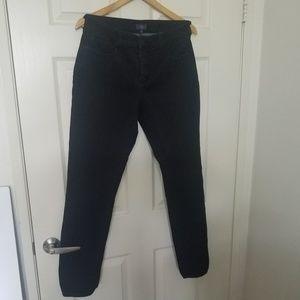 "NYDJ Black Jeans Legging Stretch 10(30) by 31"""